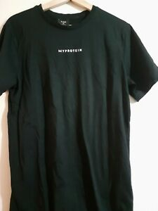 MP My Protein Original  Black  Short Sleeves  T Shirt Size M New