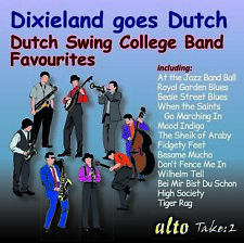 CD DIXIELAND GOES DUTCH SWING COLLEGE BAND FAVOURITES TIGER RAG WHEN THE SAINTS