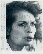 Headshot Human Rights Advocate Actress Bianca Jagger Press Photo