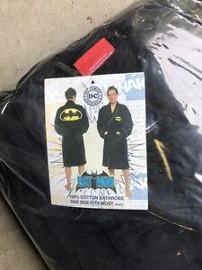 Batman bathrobe -Never Opened! Brand New!