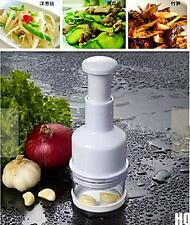 HO CA Kitchen Pressing Vegetable Onion Garlic Chopper Cutter Slicer Peeler Dicer