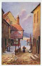 (Lb1190-100)  Artist Signed, Tin Ghaut, WHITBY 1937 Used VG-EX Hannaford