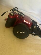 Kodak Pixpro Az421 16Mp Point & Shoot Digital Camera 720p Hd Video, Ois (Red)