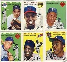 1994 Topps Archives 1954 256 Card Reprint Set