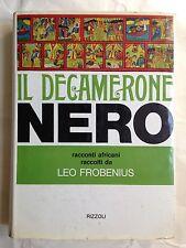 IL DECAMERONE NERO, Rizzoli, 1971 Prima edizione