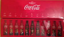 RARE ! COFFRET COCA COLA 11 BOUTEILLES EURO 2016 FOOTBALL NUMEROTE  400 EX NEUF