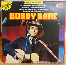 BOBBY BARE COUNTRY SUPERSTAR 3	 LP N. 1297