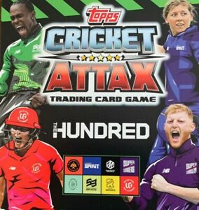TOPPS CRICKET ATTAX 2021 THE HUNDRED 100 CHOOSE YOUR BASE CARDS FROM LIST
