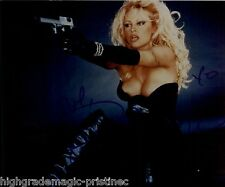 PAMELA ANDERSON LARGE BREASTS SIGNED 8X10 JSA AUTHENTICATED  COA #N38657