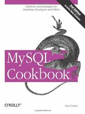 MySql Cookbook by Paul DuBois Paperback Book The Fast Free Shipping