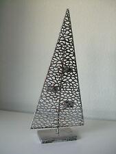 Deko Tannen Baum Ständer Metall silber antik Purley