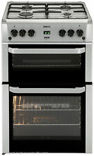 Beko Dual Fuel Stainless Steel Freestanding Home Cookers