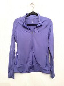 Gap Body Medium Purple Full Zip Thumbhole Running Active Jacket