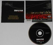 Simple Plan  MTV Hard Rock Live  U.S. promo label cd  hard-to-find