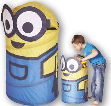 Minions Despicable Me Pop up Storage Bin Toys Laundry Kids Childrens Bedroom