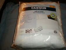 Cannon Deluxe Heated Mattress Pad Queen / Dual Digital Controllers