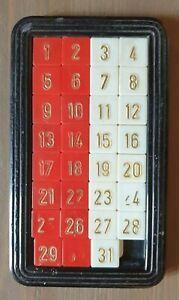 Gioco Del 15 ( Con 31 Numeri) Vintage Anni 1980
