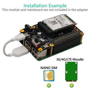 3G / 4G / LTE-Modulplatine für Raspberry Pi / Samsung ARTIK / Latte Panda / ASUS