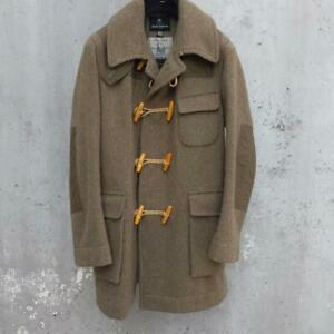 Nigel Cabourn Authentic Duffle Coat Men Size 48 Made in England Used from Japan