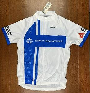 NWT Primal Men's Sport Cut Raglan Cycling Jersey Medium (M) Trinity Industries