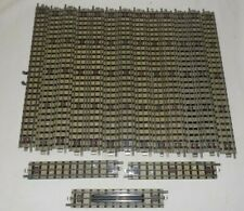 HORNBY DUBLO (3 RAIL) 16 PIECES STRAIGHT SECTIONS EDB1 & EDB1 1/2.