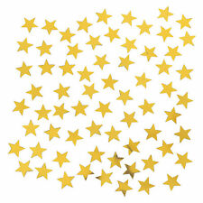 Gold Star-Shaped Confetti - Party Decor - 1 Piece