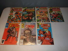 Conan the Barbarian Giant Size Annual lot and More MARVEL COMICS Vintage
