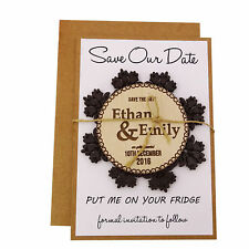 Personalized Magnets Wedding Save The Date Cards Favors With Envelopes-MG52
