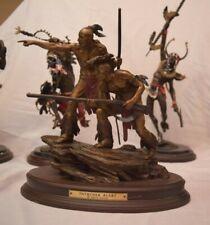 """Franklin Mint Bronze Sculpture After Ernie Cselko """"Intruder Alert"""""""