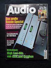AUDIO 6/96,B & W DM 302,CD M 1,KEF CODA 7,QUADRAL FORTUN,QUART QL 40 C,JBL L 90