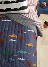 "Hanna Andersson Twin Quilt ""Daytripper"" Nwt 90""x69"" Retail:$149"