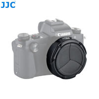 JJC Auto Open & Close Lens Cap Protector for Canon PowerShot G1X Mark III Camera