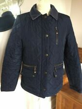 Marks & Spencers Size 8  Navy quilted short box style  Jacket