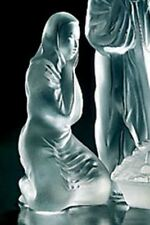 Lalique Crystal figurine Mary statue christmas nativity scene NEW IN BOX 1212600