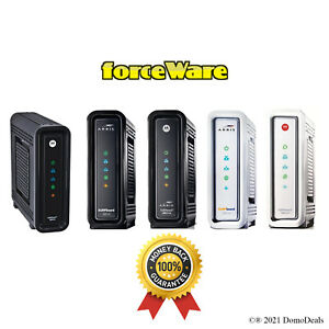 Arris Motorola SB6141 DOCSIS 3.0 Cable Modem with forceWare
