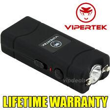VIPERTEK VTS-881 7 BV Rechargeable Micro Mini Stun Gun LED Flashlight - Black