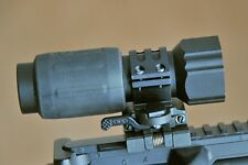 5x Magnifier Flip to the side mount. for 551, 552, 553, 557 sights etc.