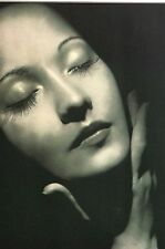Merle Oberon 1937 LIFE MASK  -  Beloved Enemy  -  I CLAUDIUS  Matted Print Ad