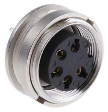Lumberg KGR Series, 5 Pole Din Socket Socket, DIN EN 60529, 5A, 250 V ac IP40
