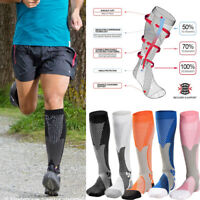 Calf Compression Socks Sleeve Support Brace for Sports Running Training Exercise