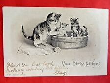 Helena Maguire (unsigned). 'You Dirty Kitten'. M & S ser 63 n.1173. 1903