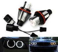 2X Angel Eyes Halo LED Light Bulb For BMW E39 E53 E60 E61 E63 65 E87 X5