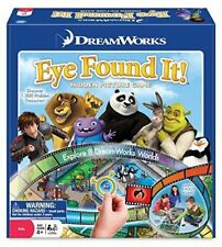 NEW Rare DreamWorks EYE FOUND IT! 6 Foot Game Board, 1000+ Hidden Object Picture