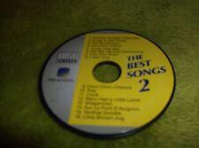 "Vtech-PRE SCHOOL DISC / PLATTE ""THE BEST SONGS 2"" Kinder Lerncomputer,16 Lieder"
