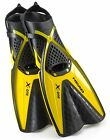 Head X-One Snorkel Fin, Mares Self Adjust Buckle Free Snorkeling Swim Fins - NEW
