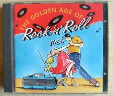 The Golden age of Rock n Roll 1959 3 CDs set Readers Digest