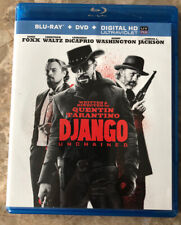 Django Unchained (Blu-Ray/DVD/Digital HD, 2013) EXCELLENT LIGHTLY USED-LIKE NEW