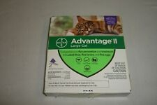 Bayer Advantage Ii Large Cat Flea Protection 2 Doses New Free Shipping