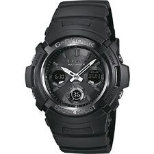 Casio G-Shock Men'S Watch Brand New AWG-M100B-1AER Resin Quartz Digital Black
