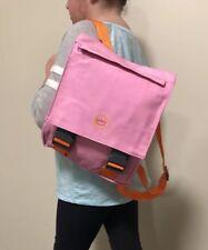 Girl's Women's Pink Backpack School Book Bags Satchel Rucksack Todd Oldham